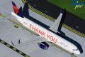 "Gemini Jets 1/200 A321-200 デルタ航空 N391DN ""THANK YOU"""