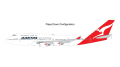 [予約]Gemini Jets 1/200 747-400ER カンタス航空 VH-OEH flaps down