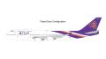 [予約]Gemini Jets 1/200 747-400 タイ航空 HS-TGP フラップダウン