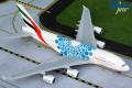 [予約]Gemini Jets 1/200 A380 エミレーツ航空 Expo 2020 Blue A6-EOC