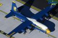 Gemini Jets 1/200 C-130J アメリカ海兵隊 ブルーエンジェルス支援機 新塗装