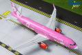 Gemini Jets 1/200 A320-200 ビバエアコロンビア (Pink) HK-5273