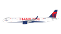 """[予約]Gemini Jets 1/400 A321 デルタ航空 N391DN """"Thank You"""" livery"""