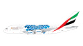 [予約]Gemini Jets 1/400 A380 エミレーツ航空 Expo 2020 Blue A6-EOC