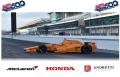 LG55 1/64 マクラーレン ホンダ アンドレッティ 2017 INDY 500 #29 フェルナンド・アロンソ