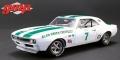 [予約]グリーンライト 1/18 1967 Chevrolet Camaro Z/28 Alan Green Chevrolet #7 Gary Gove, Mark Donohue, Skip Scott & Max Dudley