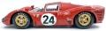 [予約]TOPMARQUES 1/18 フェラーリ 330P4 No24 1967 デイトナ24h 2nd マイク・パークス/ルドビコ・スカルフィオッティ