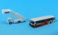 全日空商事 1/400 東京空港交通ランプバスとステップカーの2台セット
