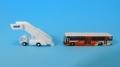 [予約]全日空商事 1/400 東京空港交通ランプバスとステップカーの2台セット