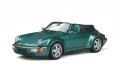 [予約]GTスピリット 1/18 ポルシェ 911(964) コンバーチブル ターボルック (グリーン)