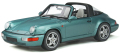 [予約]GTスピリット 1/18 ポルシェ 911(964) カレラ4 タルガ (ターコイズ)