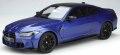 [予約]GTスピリット 1/18 BMW M4(G82) コンペティション (ブルー)