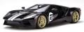 [予約]GTスピリット 1/18 フォード GT(ブラック/シルバーストライプ)世界限定:750個
