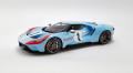 [予約]GTスピリット 1/18 2020 フォード GT #1 ヘリテージエディション (ブルー)