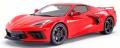 [予約]GTスピリット 1/18 シボレー コルベット スティングレイ 2020 (レッド)