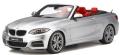 [予約]GTスピリット 1/18 BMW M235i カブリオ(シルバー)世界限定 500個