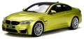 [予約]GTスピリット 1/18 BMW M4 コンペティション パッケージ(オースティンイエロー)