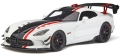 [予約]GTスピリット 1/18 ダッジ バイパー ACR(ホワイト/ブラック/レッド) 世界限定 999個