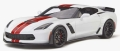 [予約]GTスピリット 1/18 シボレー コルベット Z06 (C7)(ホワイト/レッド)世界限定 999個