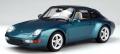 [予約]GTスピリット 1/18 ポルシェ 911 (993) タルガ (ターコイズ)