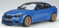 [予約]GTスピリット 1/18 BMW M2 (F22) CS (ブルー)
