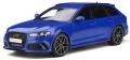 [予約]GTスピリット 1/18 アウディ RS6 パフォーマンス ノガロ エディション(ブルー) 世界限定 999個