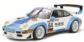 [予約]GTスピリット 1/18 ポルシェ 911 GT2 ル・マン 1999(ホワイト/ブルー) 世界限定数:500個