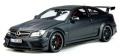 [予約]GTスピリット 1/18 メルセデス ベンツ C63 AMGクーペ ブラックシリーズ(マットブラック)海外エクスクルーシブ