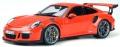 [予約]GTスピリット 1/18 ポルシェ 911(991.1) GT3 RS (オレンジレッド) 海外エクスクルーシブ
