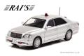 RAI'S (レイズ) 1/43 トヨタ クラウン (JZS175) 2004 警視庁交通部交通機動隊車両(覆面 銀) 限定800台