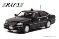 RAI'S (レイズ) 1/43 トヨタ クラウン (JZS175) 2004 愛知県警察交通部交通機動隊車両(覆面 黒) ※限定700台