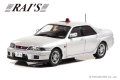 RAI'S (レイズ) 1/43 日産 スカイライン GT-R AUTECH VERSION 1998 埼玉県警察高速道路交通警察隊車両 (覆面 銀) 限定800台