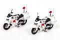 RAI'S (レイズ) 1/43 ホンダ VFR800P 2002-2008 神奈川県警察交通取締用自動二輪車 (2台セット) 第一交通機動隊 / 第二交通機動隊 *800pcs