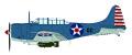 """[予約]HOBBY MASTER 1/32 SBD-2 ドーントレス """"VS-6 真珠湾"""""""