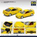 [予約]エラカー 1/64 Honda Interga Type R Dc2 - Yellow