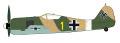 """[予約]HOBBY MASTER 1/48 Fw190A-4 フォッケウルフ """"エーリッヒ・ルドルファー"""""""