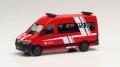 """herpa Cars&Trucks 1/87 MAN TGE バス """"シュプリンゲ ボランティア消防隊 /OT エルダックセン"""""""