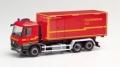 """herpa Cars&Trucks 1/87 メルセデスベンツ アロクス M interchangeableトラック """"ヘルツォーゲンラート市消防隊車両"""""""