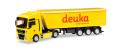 """herpa Cars&Trucks 1/87 MAN TGX XLX ストッフェルライナー トラック セミトレーラー """"Deuka"""""""