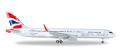 herpa wings 1/500 757-200 Open Skies (ブリティッシュエアウェイズ)
