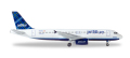 "herpa wings 1/500 A320 ジェットブルー航空 ""Tartan"" Tail N508JL"