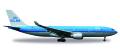 """[予約]herpa wings 1/500 A330-200 KLMオランダ航空 """"Piazza San Marco - Venezia"""""""