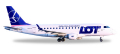 [予約]herpa wings 1/500 E170 LOT ポーランド航空 SP-LDH