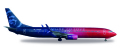 [予約]herpa wings 1/500 737-900 アラスカ航空 Virgin USA merger livery N493AS