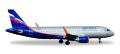 """[予約]herpa wings 1/500 A320 アエロフロート航空 VP-BAD """"Abram Ioffe"""""""