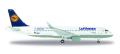 [予約]herpa wings 1/500 A320 ルフトハンザ航空 Munich Airport 25 Years D-AIUQ