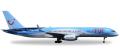 [予約]herpa wings 1/500 757-200 TUI航空 (トムソン航空) G-BYAW