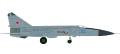 [予約]herpa wings 1/200 MiG-25PDS ソビエト空軍 146th 航空連帯 Vasilkov Air Base
