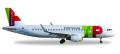 """[予約]herpa wings 1/200 A320 TAP ポルトガル航空 CS-TNS """"D. Afonso Henriques"""" ※プラスチック製"""