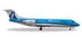 """herpa wings 1/200 フォッカー 70 KLM シティホッパー """"Fokker Thank you"""" PH-KZU"""